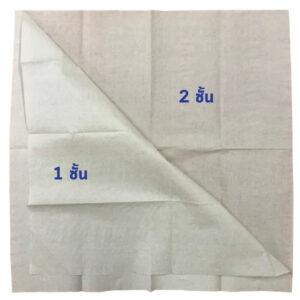 กระดาษทิชชู่ 1ชั้น หรือ 2 ชั้น